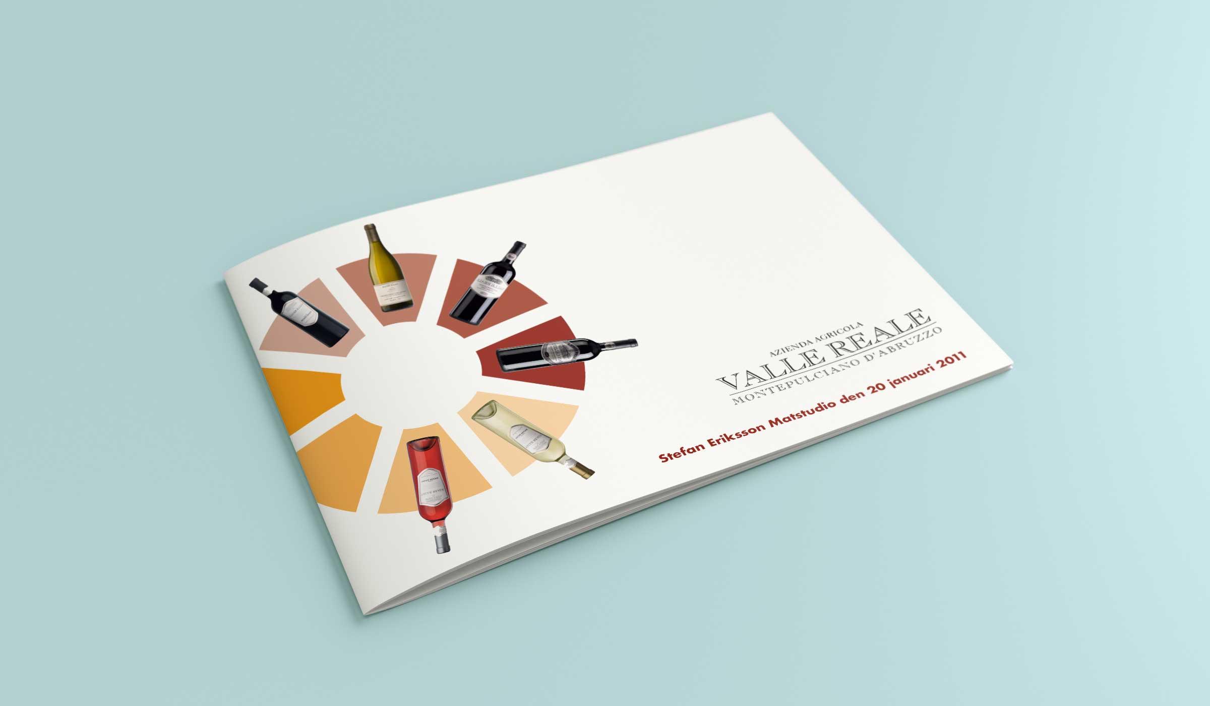 Valle Reale vinprotokoll omslag