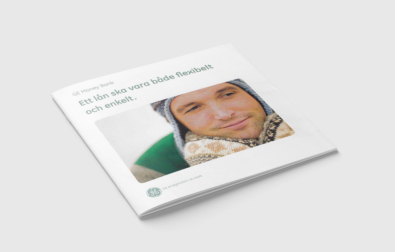 GE Money Bank folder omslag