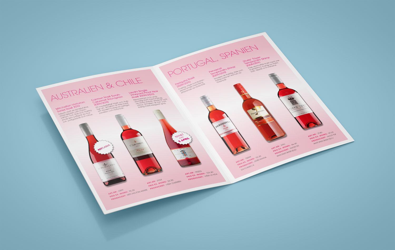 We love Rosé, Vingruppen inlaga