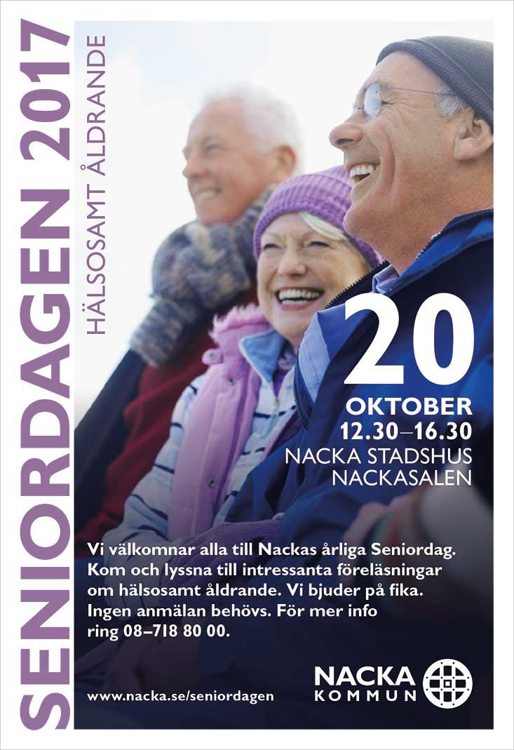 Nacka Kommun Seniordagen 2017