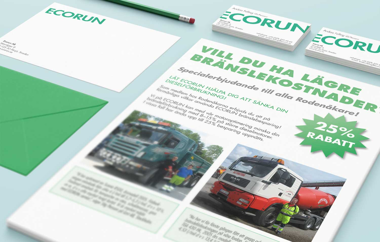 Ecorun säljblad