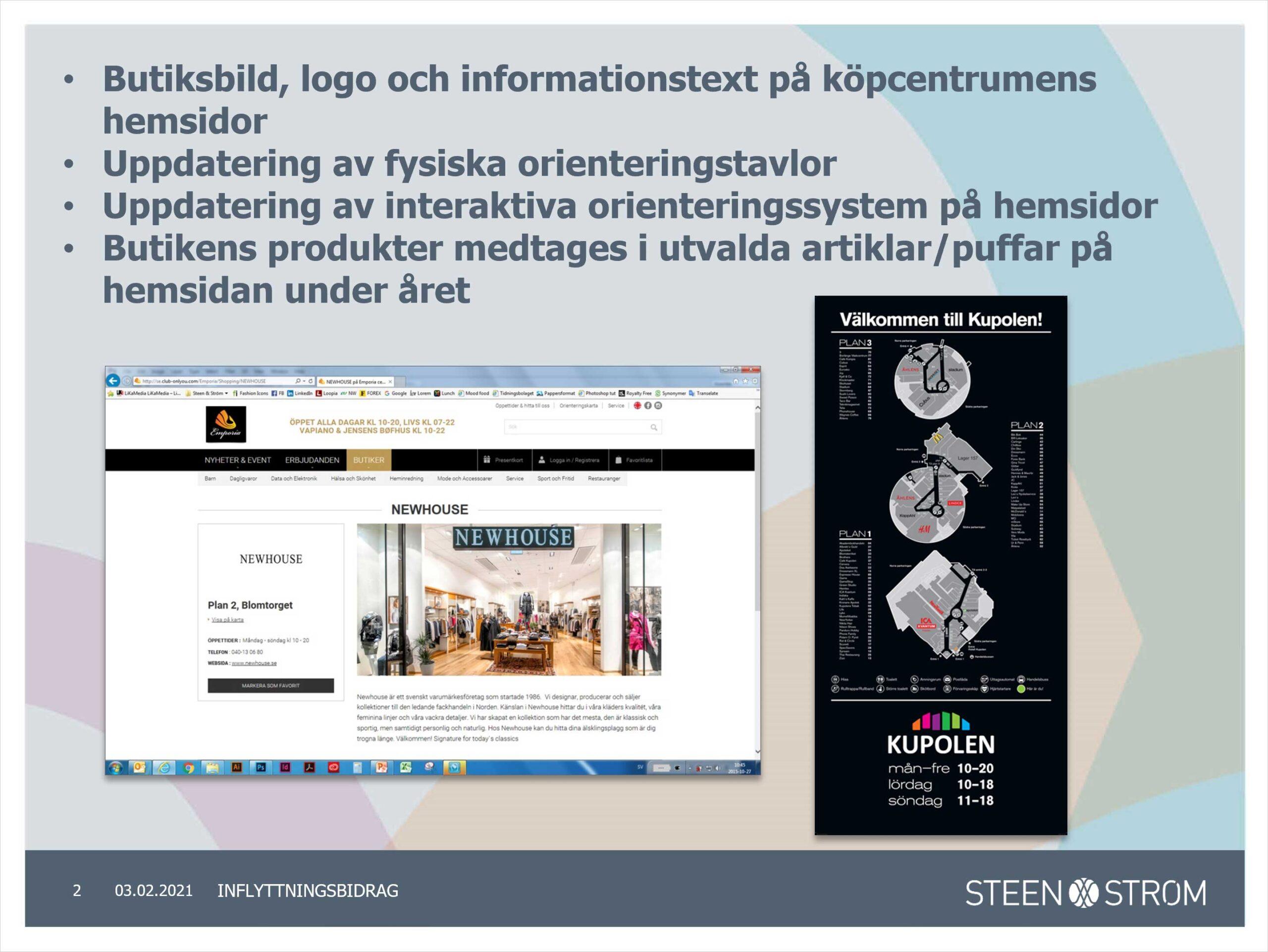 Steen & Ström powerpoint
